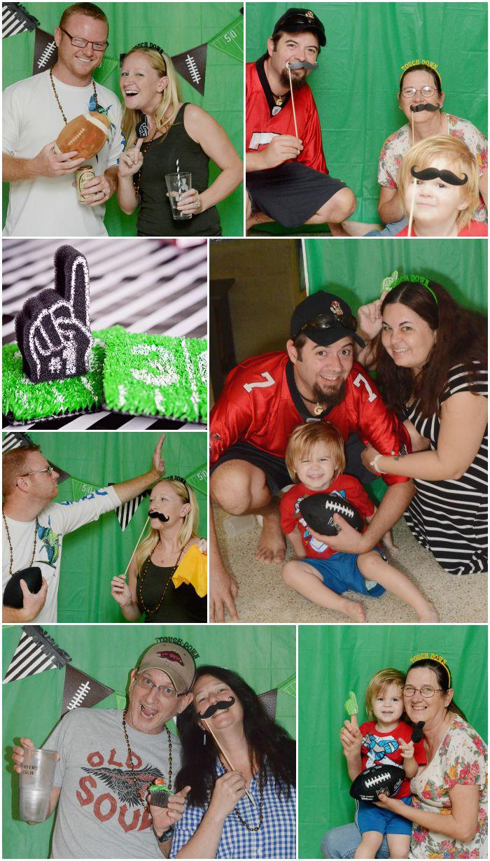 Football Party Photobooth Idea