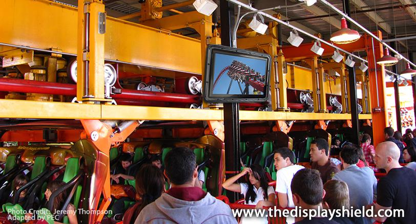 affordable outdoor digital signage for a theme park
