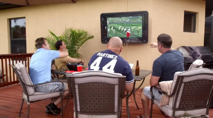 Outdoor TV Cabinets are a Must for Football Season — Here's Why