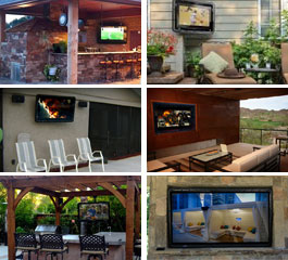 Weatherproof Outdoor TV Enclosures - The TV Shield